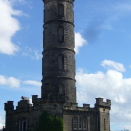Calton hill monument