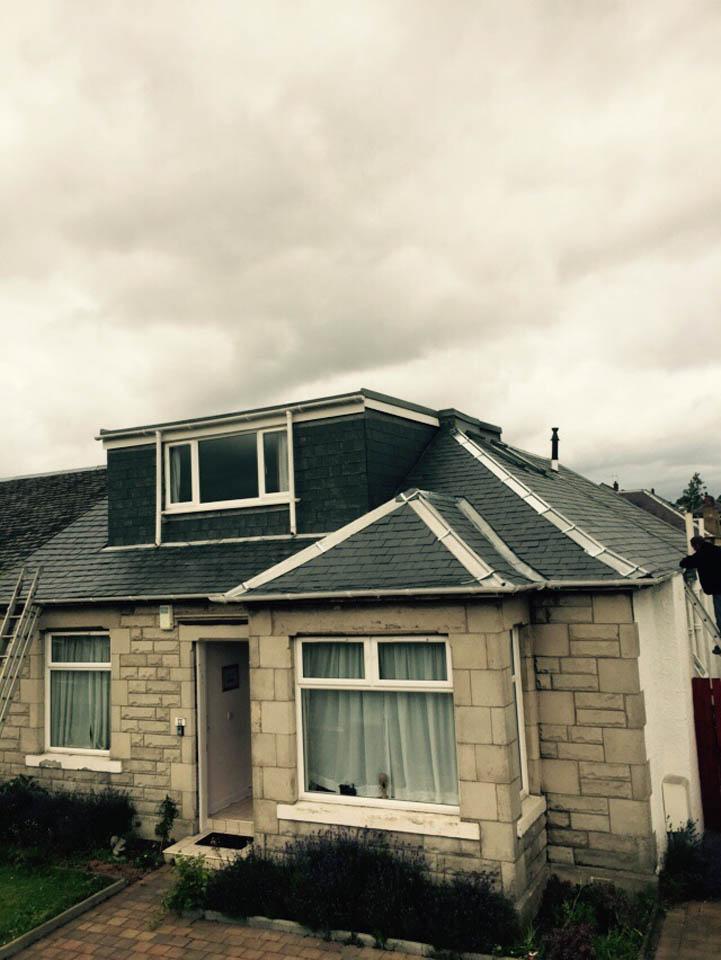 Home in Edinburgh after stone work