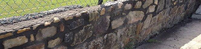 Lime Wall rendered in Edinburgh
